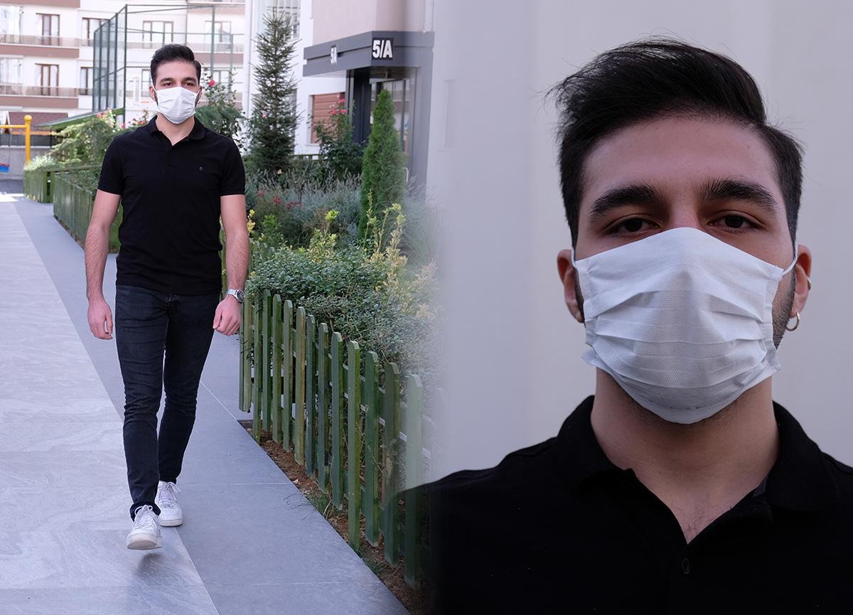 Konya'da koronavirüse yakalanan gençten ibretlik açıklamalar!