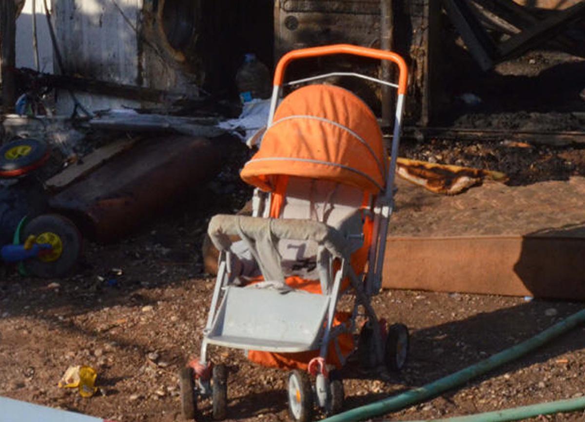 Antalya'da çok acı olay! 6 aylık bebek yanarak can verdi...