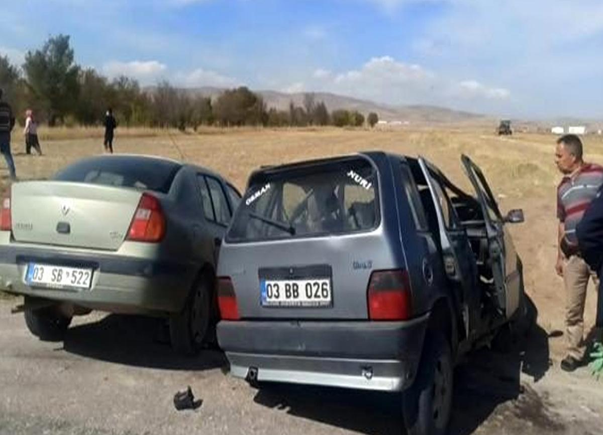 Afyon'daki trafik kazasında 90 yaşındaki adam hayatını kaybetti