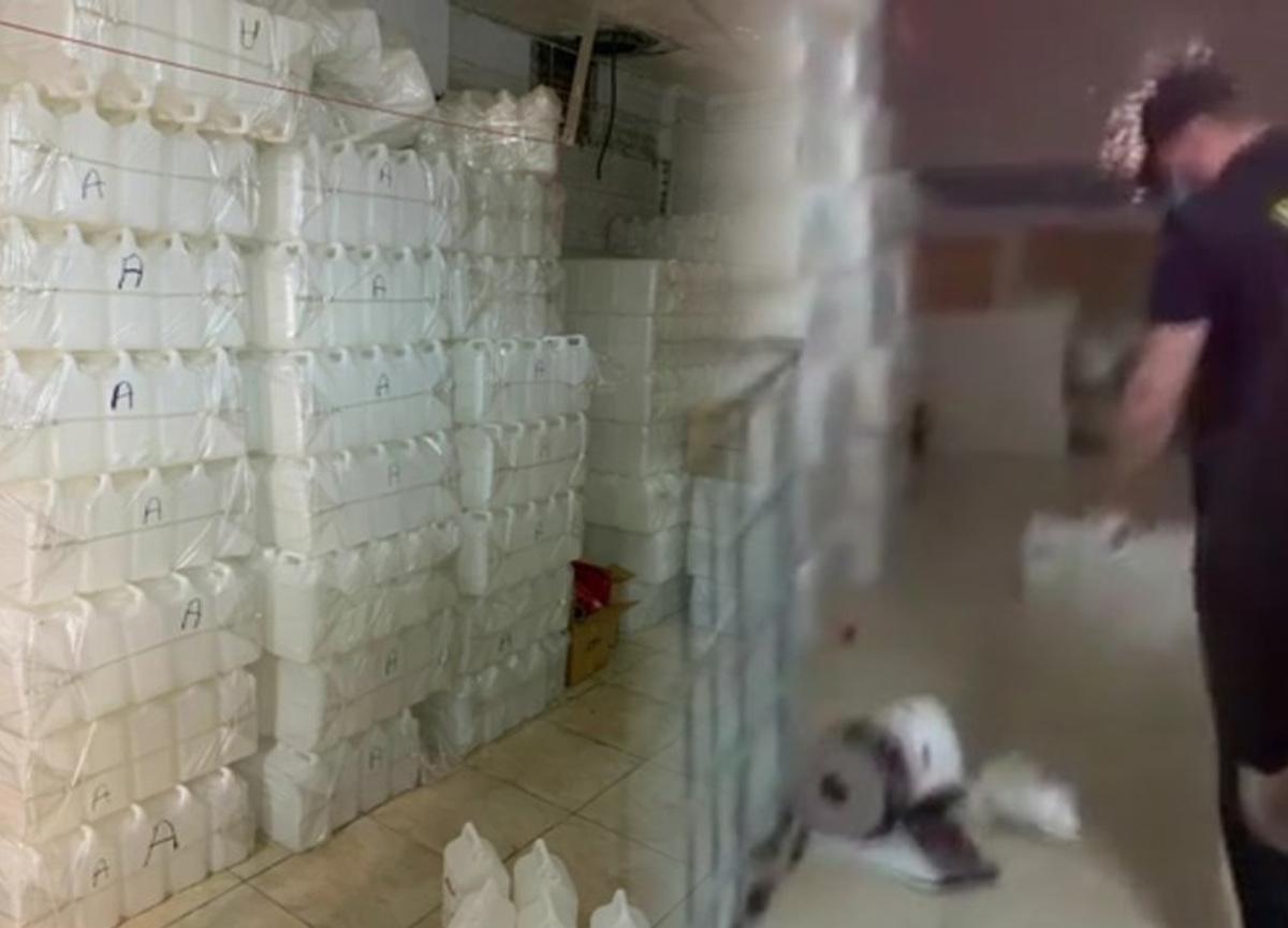 Ölümler artmıştı! İstanbul'da 6 ton etil alkol ele geçirildi...