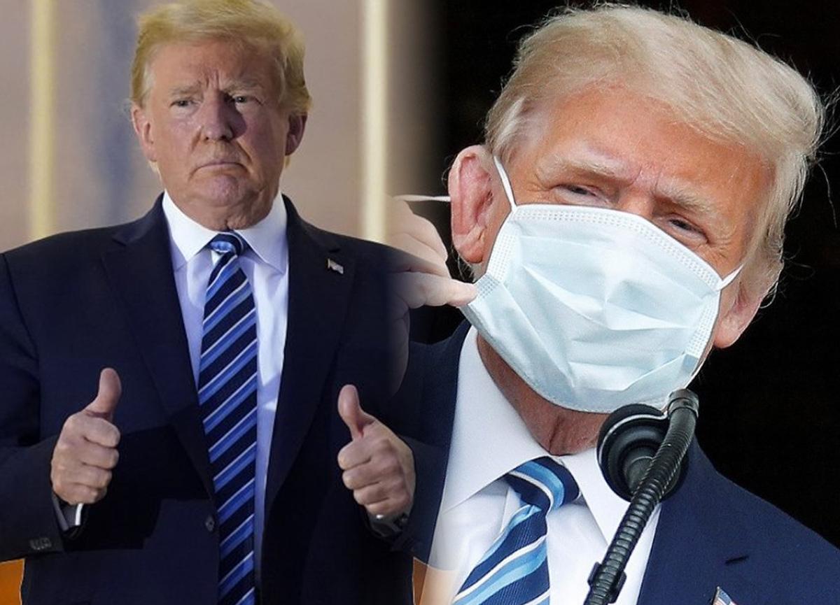 Koronavirüsü atlatan Trump'ın son testi negatif çıktı