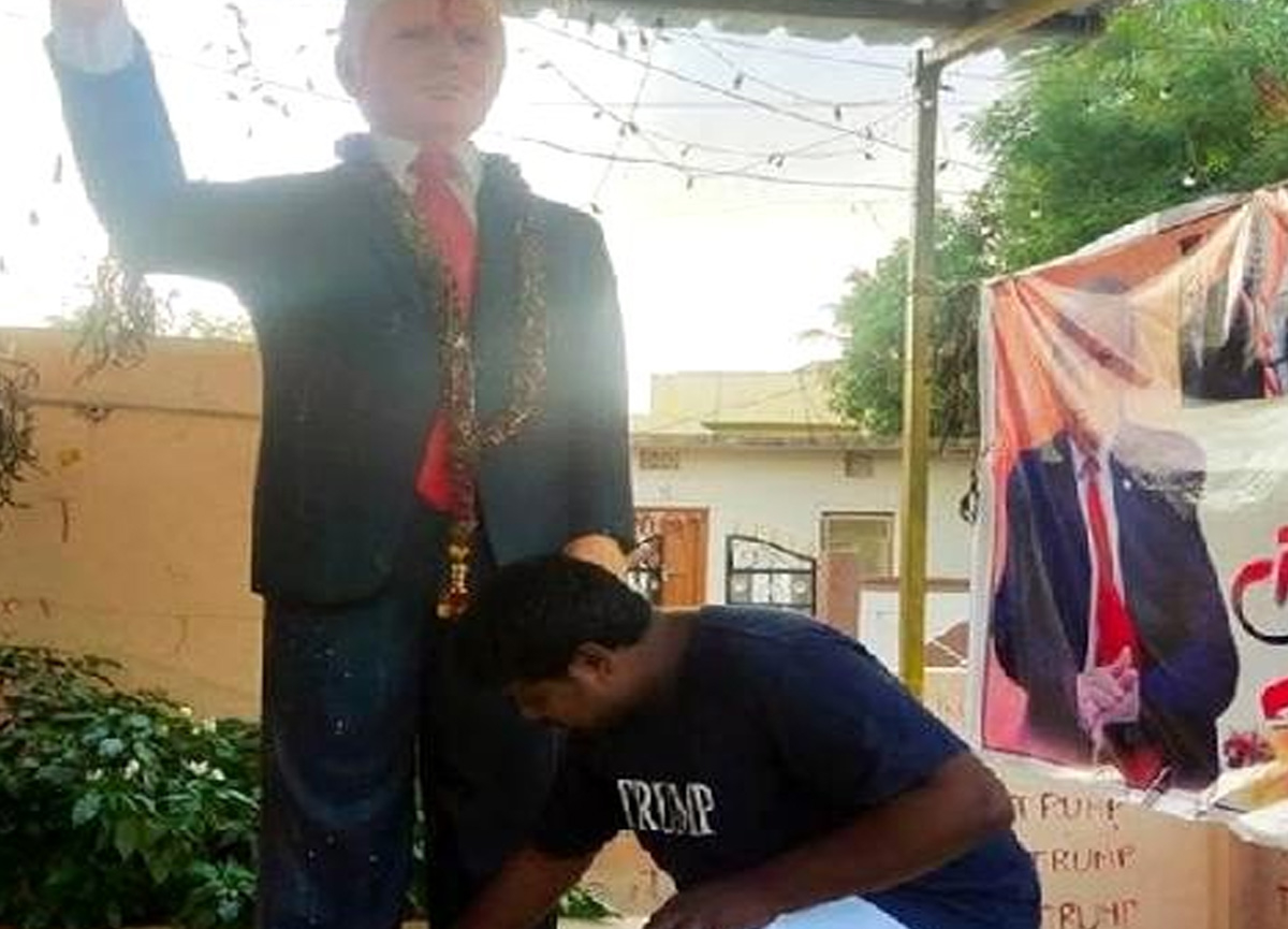 Donald Trump'a tapan Hintli adam hayatını kaybetti