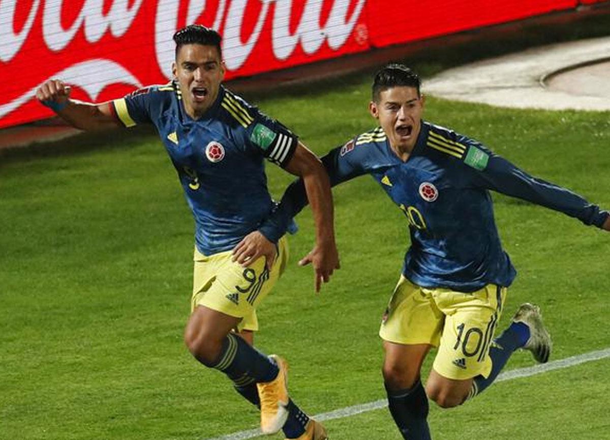 Sonradan oyuna giren Radamel Falcao, son dakika golüyle Kolombiya'ya 1 puanı getirdi