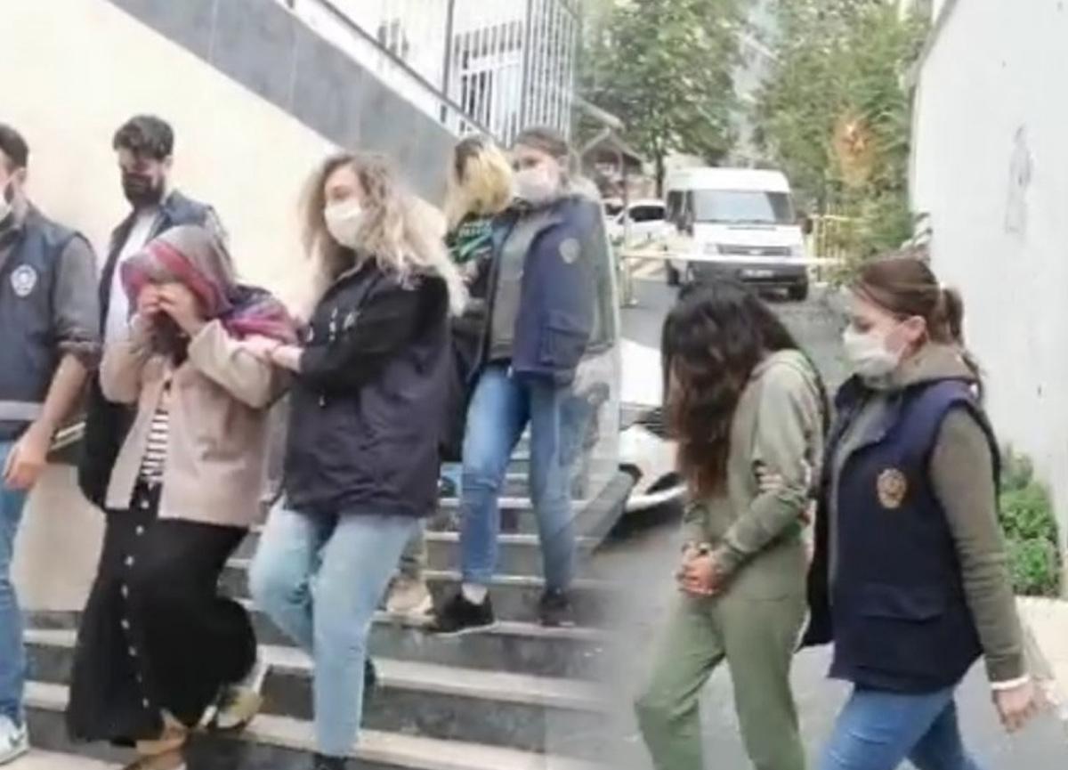 İstanbul'da ABD'li turistleri soyma iddiasıyla gözaltına alınan 3 kadın hırsız serbest kaldı!
