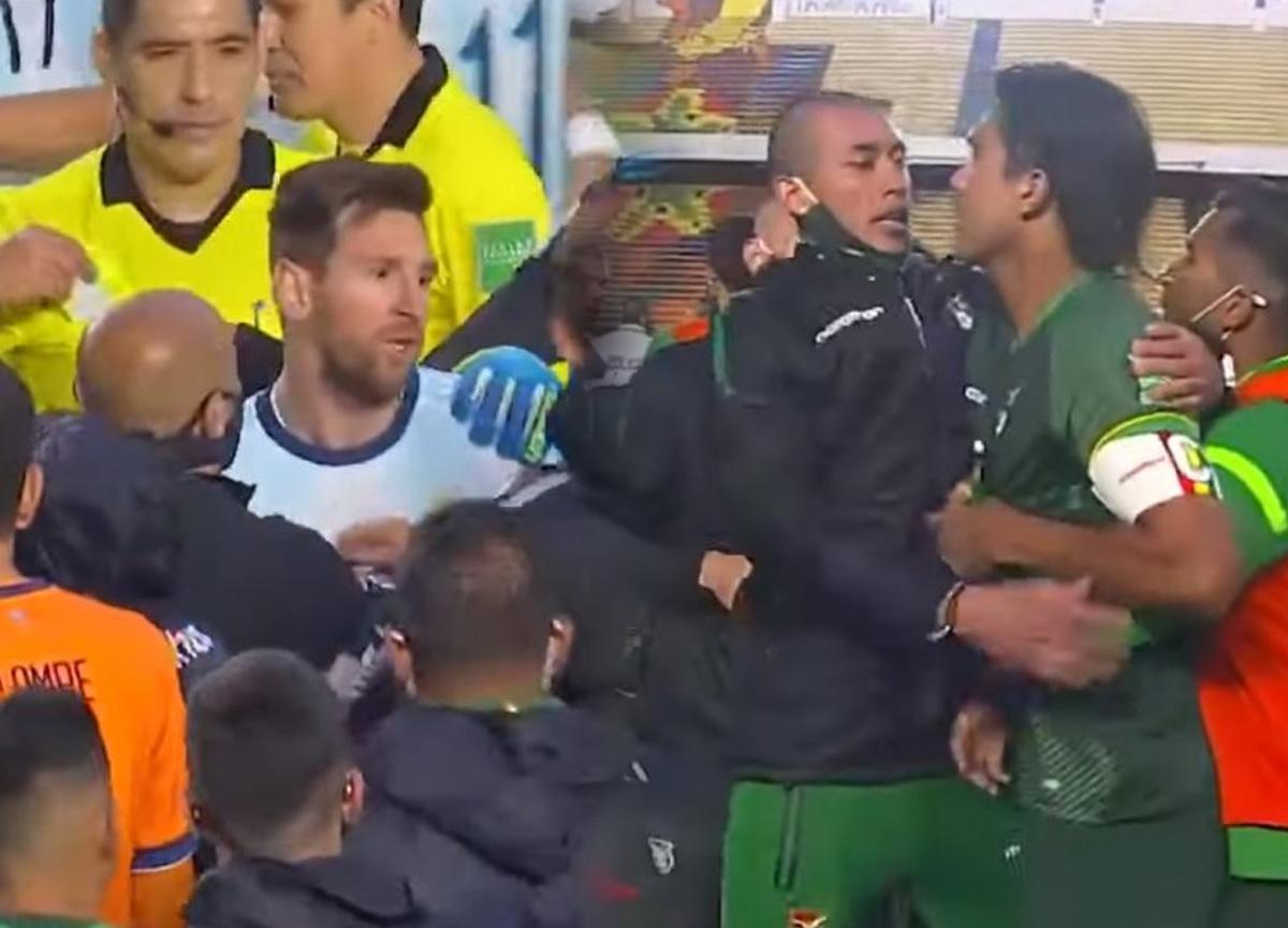 Lionel Messi ile Marcelo Moreno birbirine girdi!