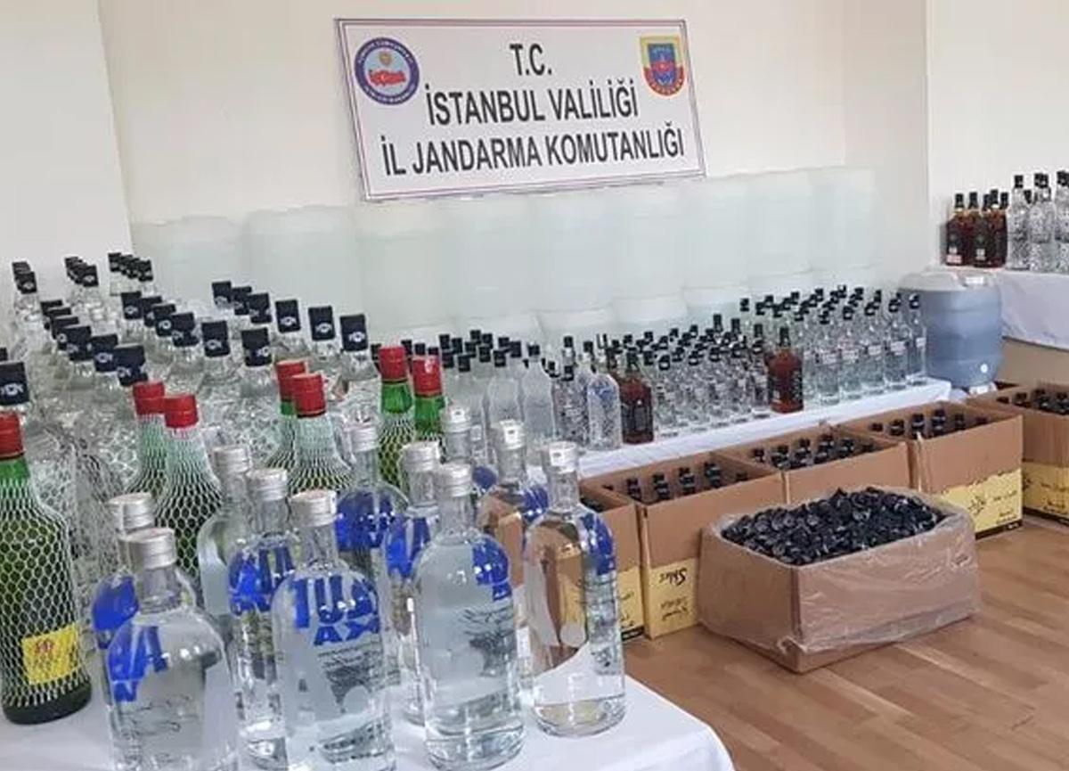 Son dakika: İstanbul Valiliği açıkladı! İşte sahte içki operasyonunun bilançosu