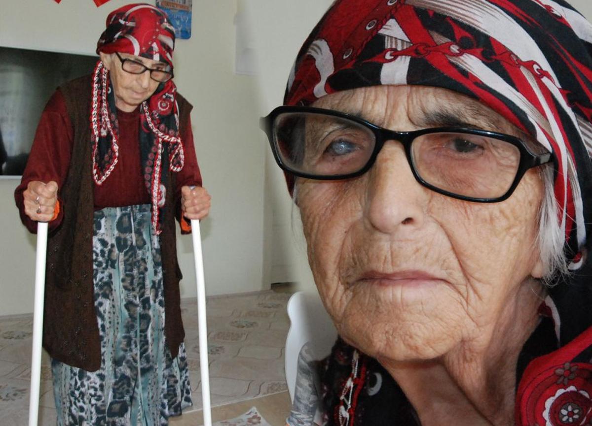 Bartın'da yaşayan 95 yaşındaki Fatma Nine, 13 günde koronavirüsü yendi