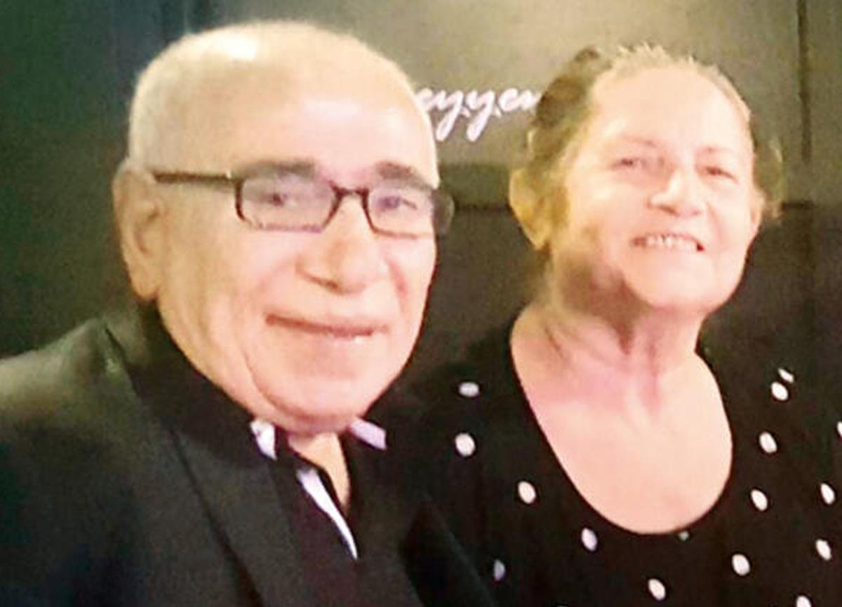 İlyas Salman 45 yıllık eşiyle görüntülendi