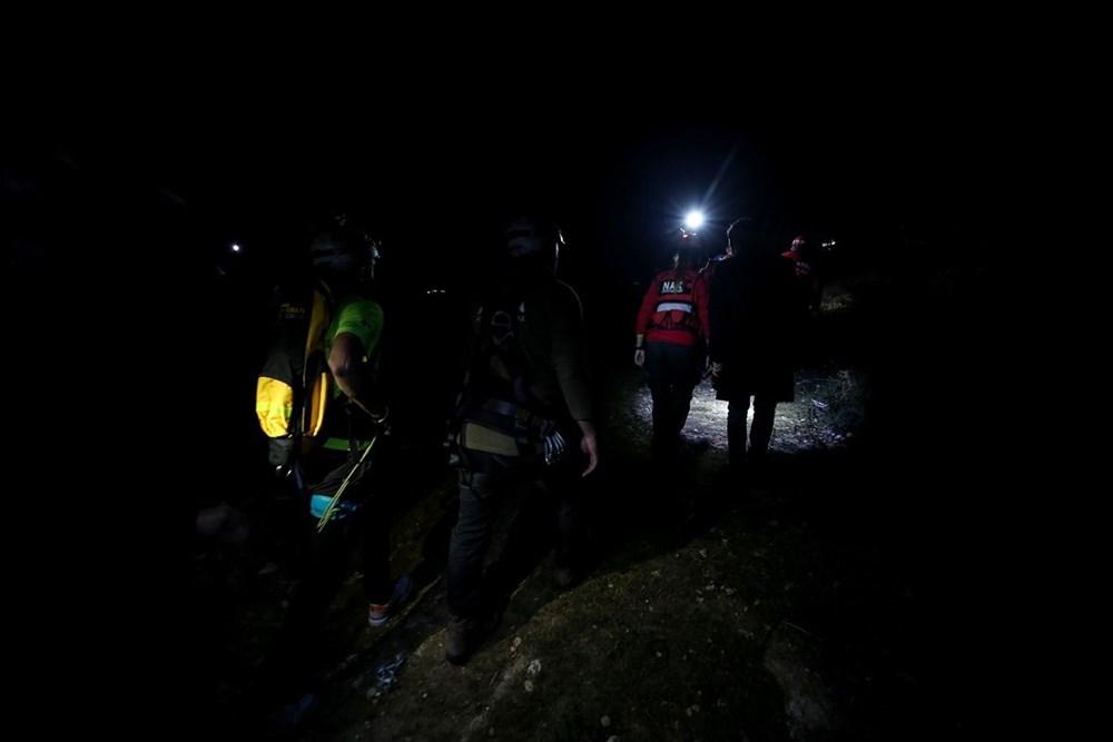 Uludağ'ın eteklerinde kaybolan 4 kişi ekiplerce kurtarıldı!