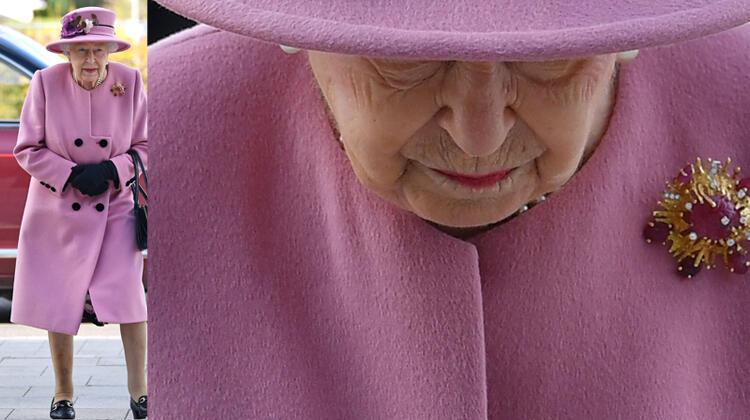 Ülkesi hastalıktan kırılırken Kraliçe neden maske takmıyor?