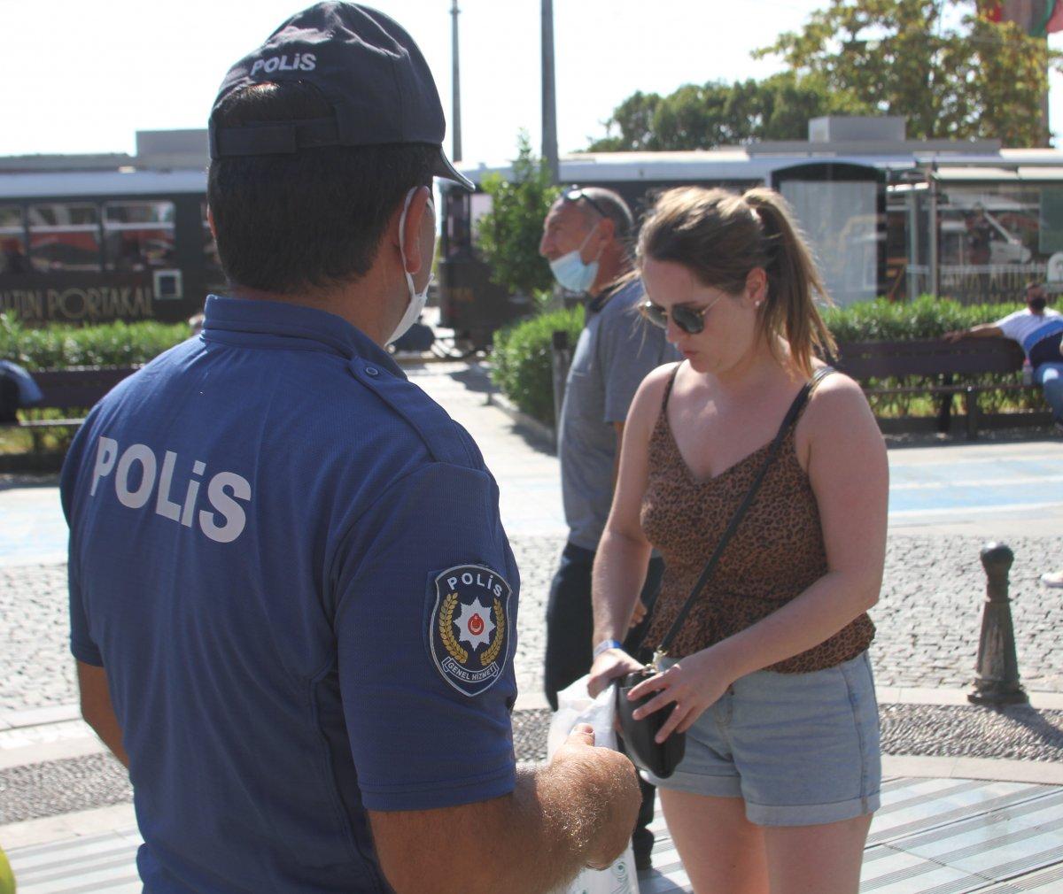 Antalya'da maske takmayan gençten ilginç savunma: Nefes almak doğal hak, mahrum kalmak istemiyorum