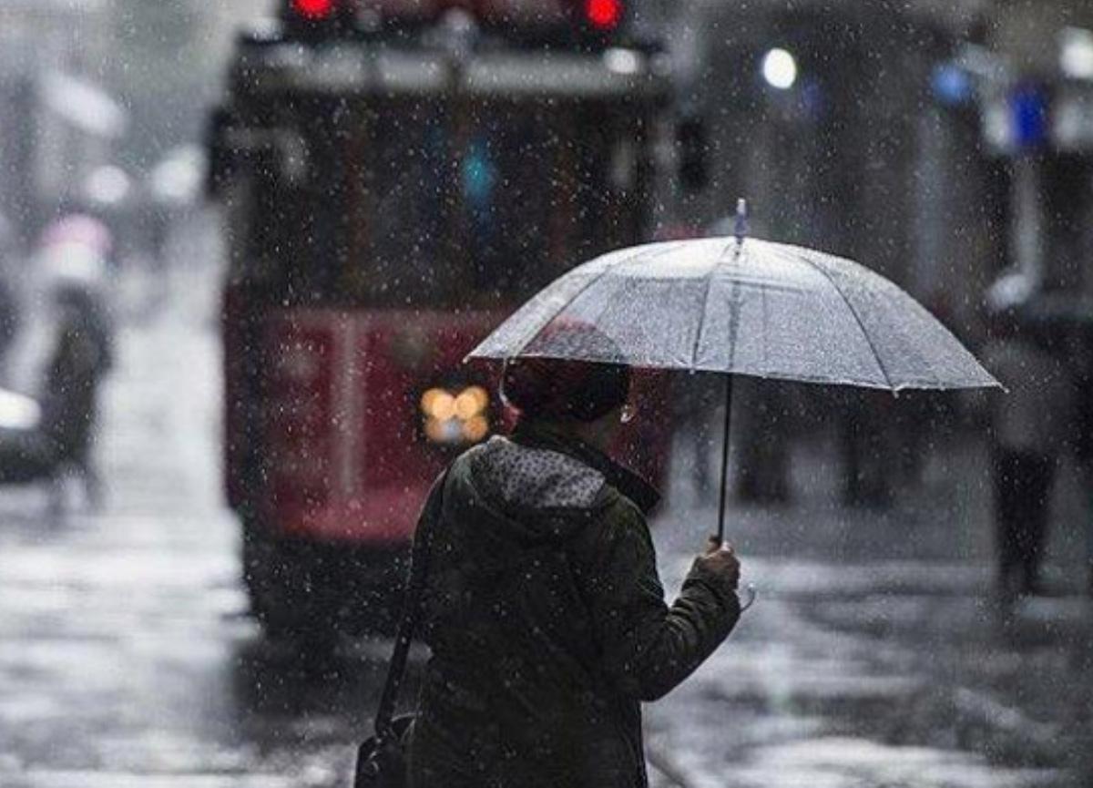 Marmara ve Ege için dolu, sağanak ve fırtına uyarısı!