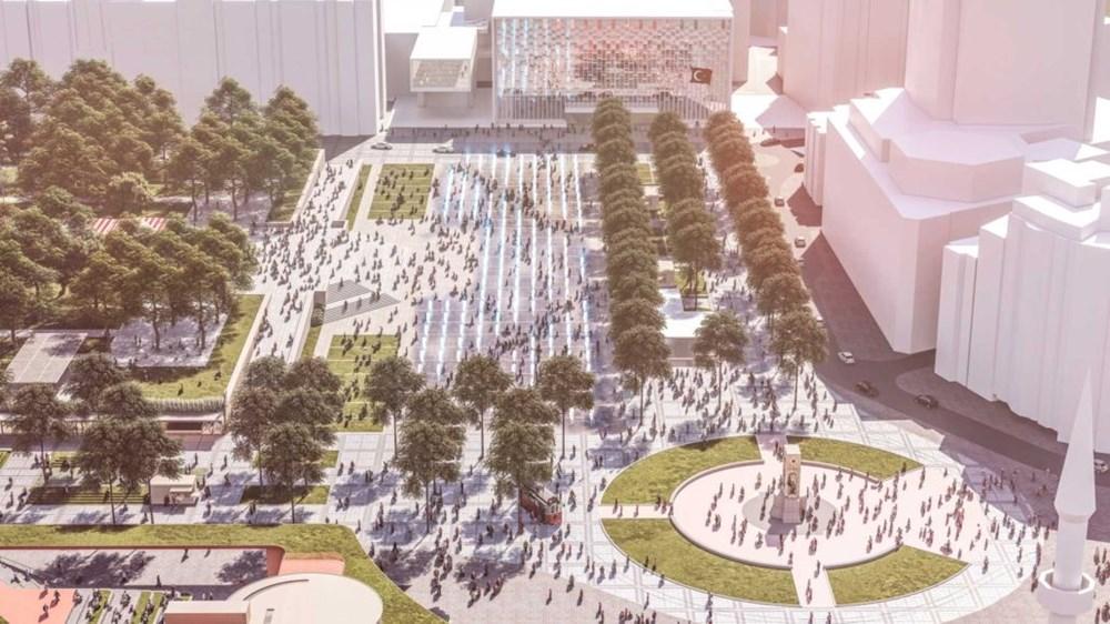 Taksim Meydanı için finale kalan ve oylamaya sunulan 3 proje açıklandı! İşte yeni meydan projeleri...