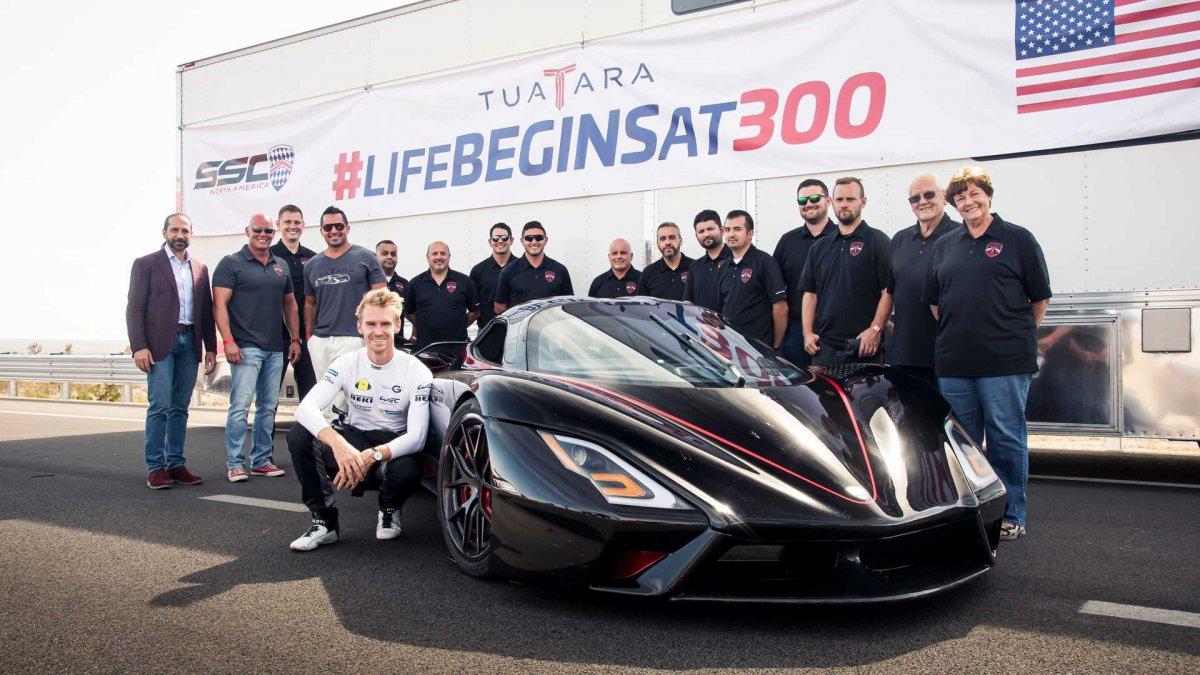 Saatte 532.93 km hıza ulaşan SSC Tuatara, dünyanın en hızlı otomobili oldu!