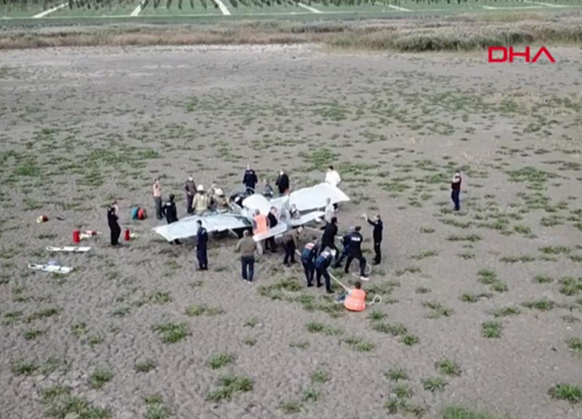 Son dakika... İstanbul'da eğitim uçağı düştü