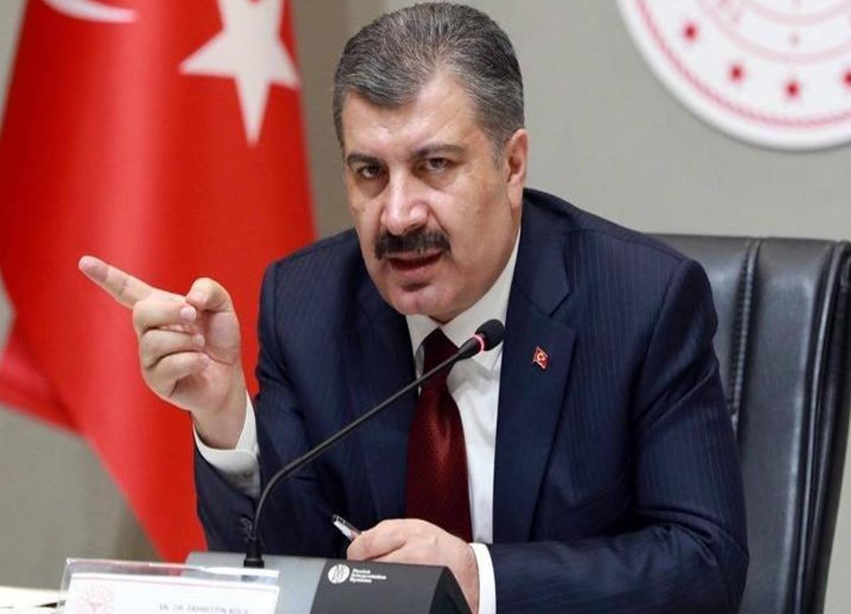 Sağlık Bakanı Fahrettin Koca günlük koronavirüs tablosunu paylaştı