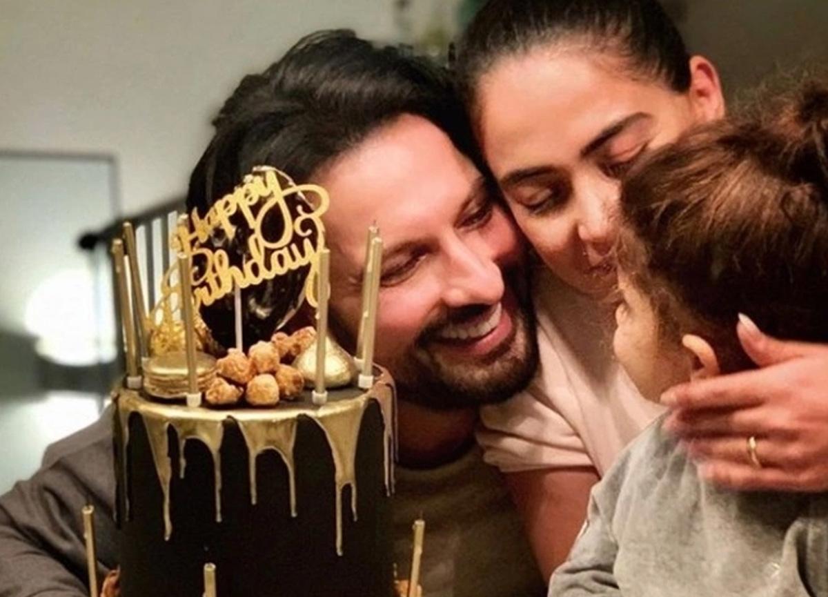 Megastar Tarkan yeni yaşını ailesi ile birlikte kutladı