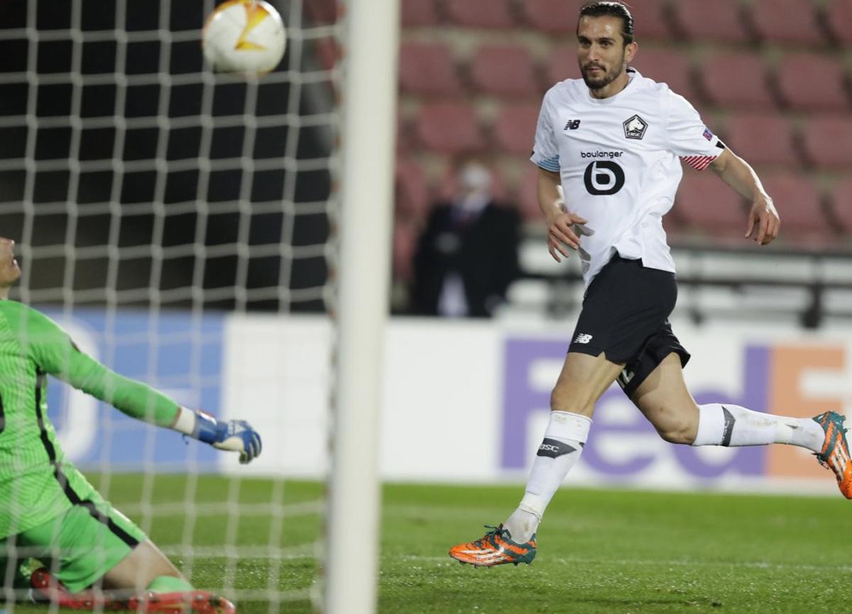 Lille, Sparta Prag'a gol yağdırdı... Yusuf Yazıcı, hat-trick yaptı!