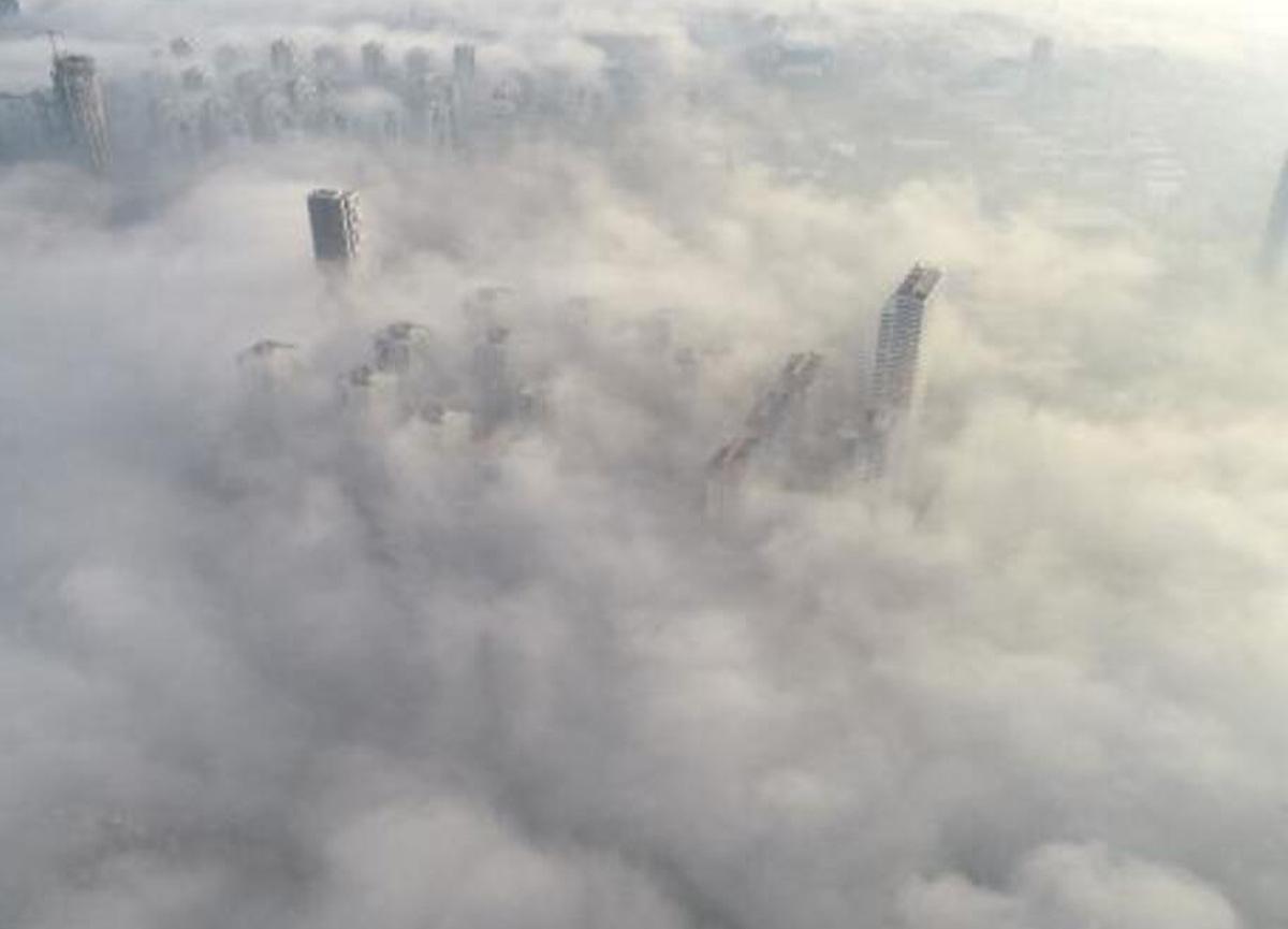 İstanbul'da büyüleyici manzara: Böyle görüntülendi...