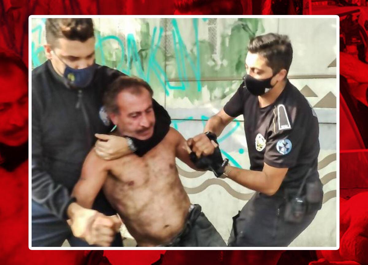 Beşiktaş'ta akılalmaz olay! Bayılan kişi ayılıp herkese saldırdı