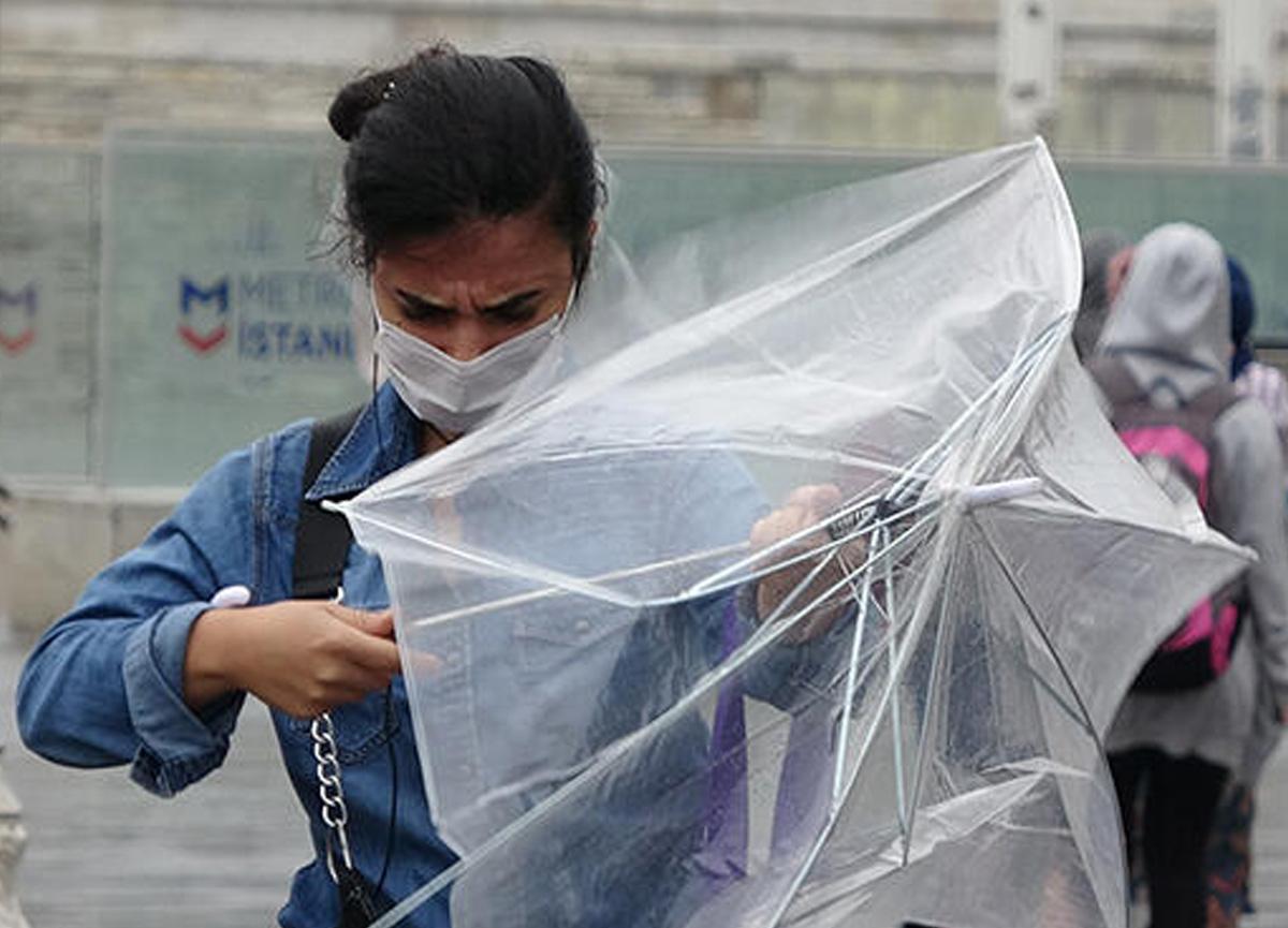 Meteoroloji 5 il için son dakika sağanak yağış uyarısında bulundu