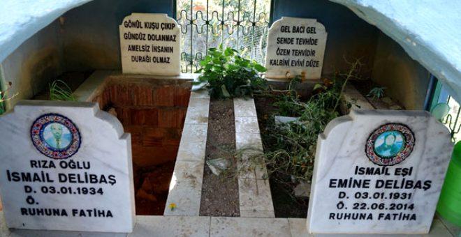Bir tuhaf olay! Vefat etmeden kendi mezarını yaptı, içine ölen eşini gömdü
