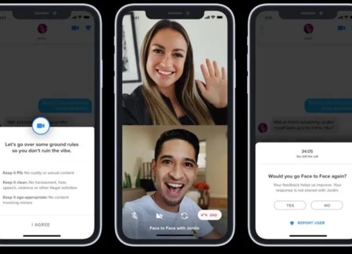 Tinder'a yüz yüze sohbet özelliği geldi: İşte Tinder Face to Face