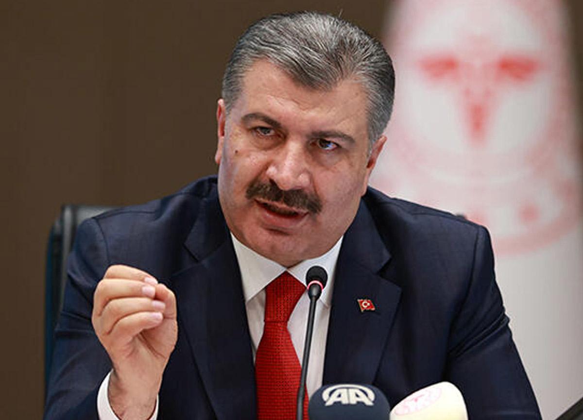 Sağlık Bakanı Fahrettin Koca günlük koronavirüs verilerini paylaştı