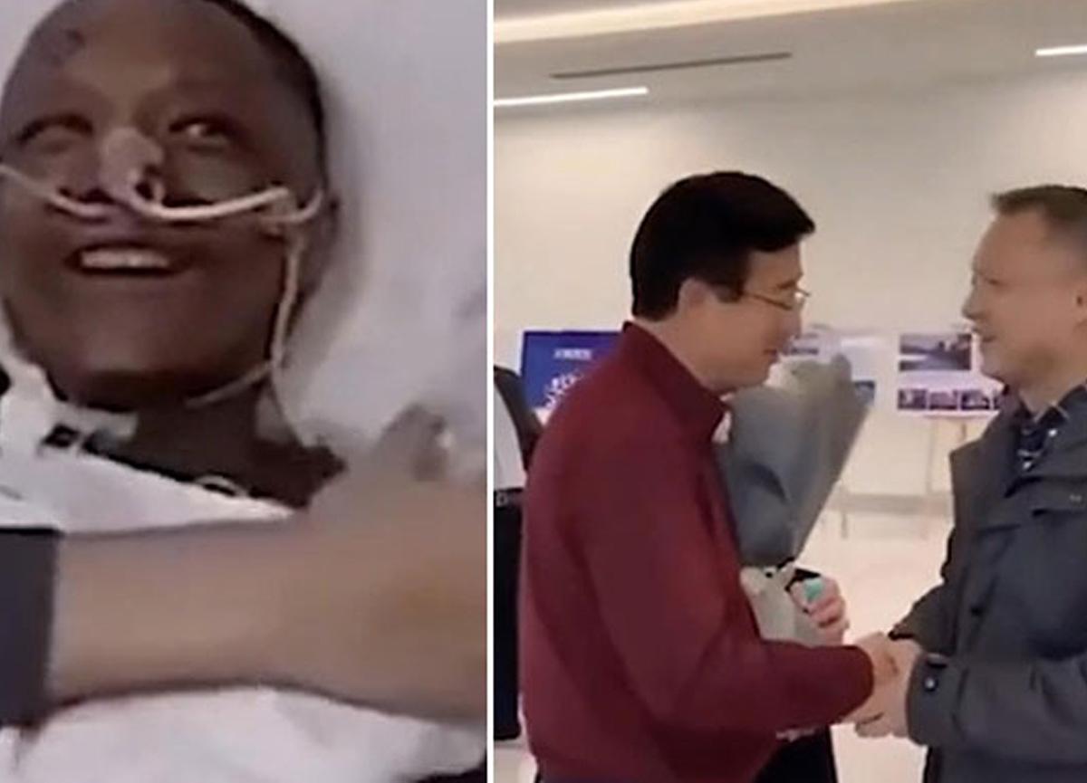 Koronavirüs nedeniyle ten rengi koyulaşan Çinli doktor Yi Fan eski haline döndü