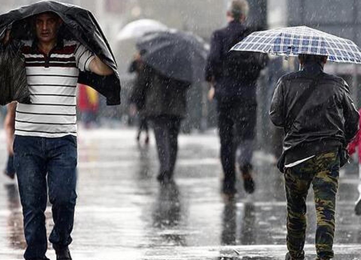Meteoroloji İzmir, Aydın ve Muğla için kuvvetli sağanak yağış uyarısında bulundu