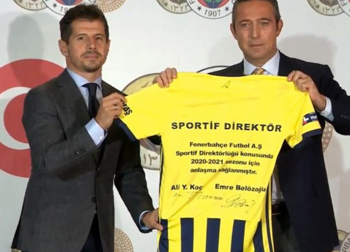 Fenerbahçe, Emre Belözoğlu'nu resmen sportif direktörlüğe getirdi!