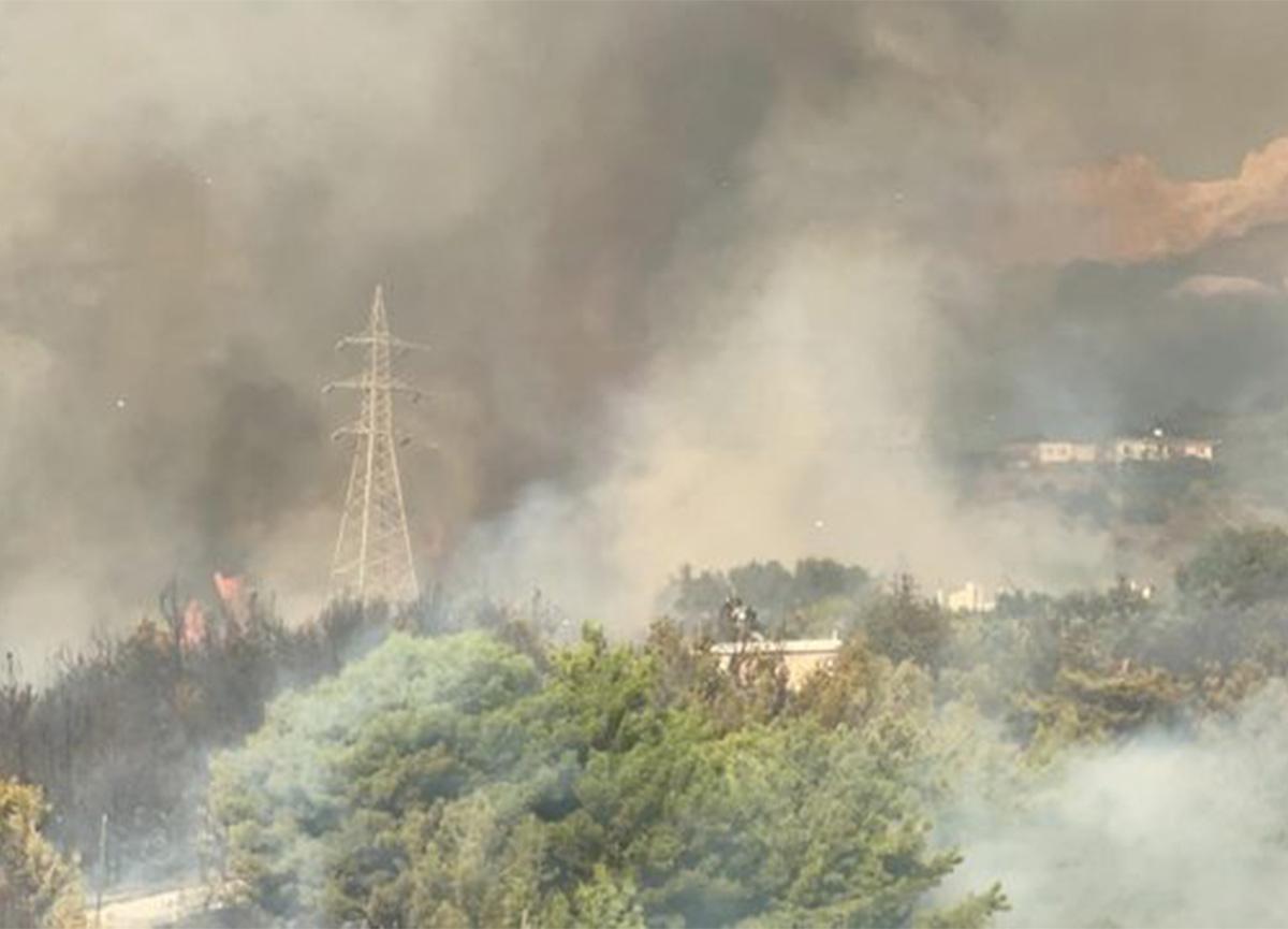Son dakika: Hatay'daki orman yangını kontrol altına alındı