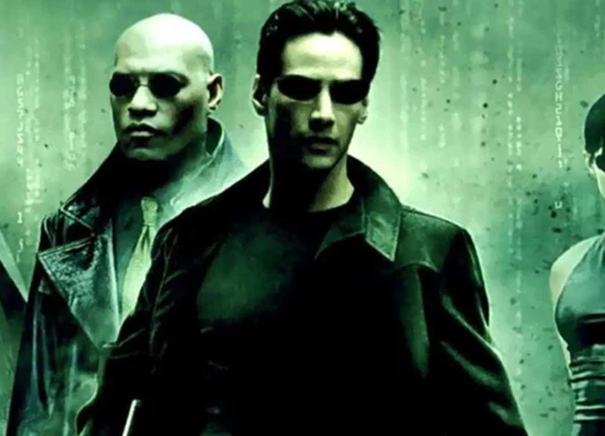 Keanu Reeves 'Matrix 4' imajıyla dikkat çekti!