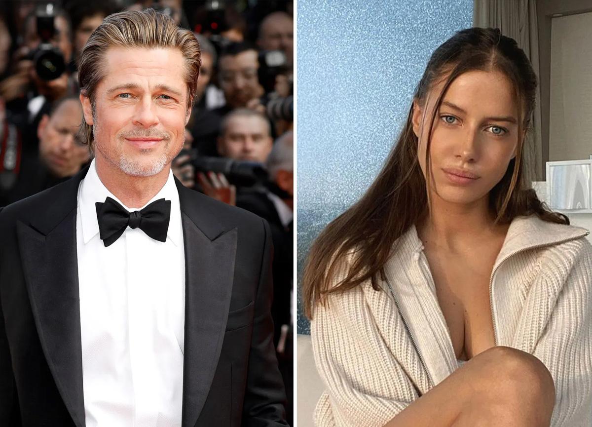 Brad Pitt kendisinden 29 yaş küçük ve evli olan sevgilisinden ayrıldı!