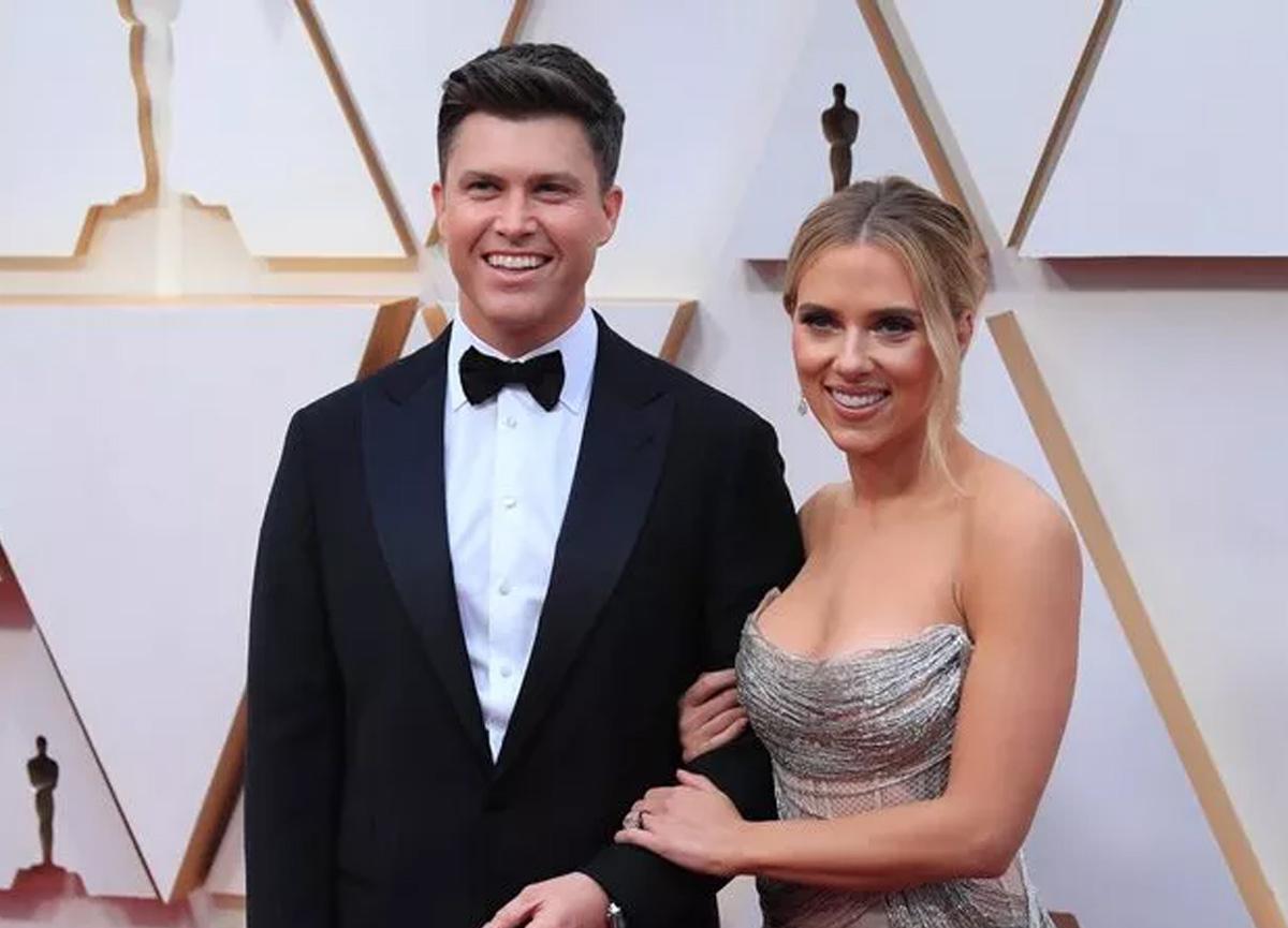 Hollywood yıldızı Scarlett Johansson ile komedyen Colin Jost evlendi
