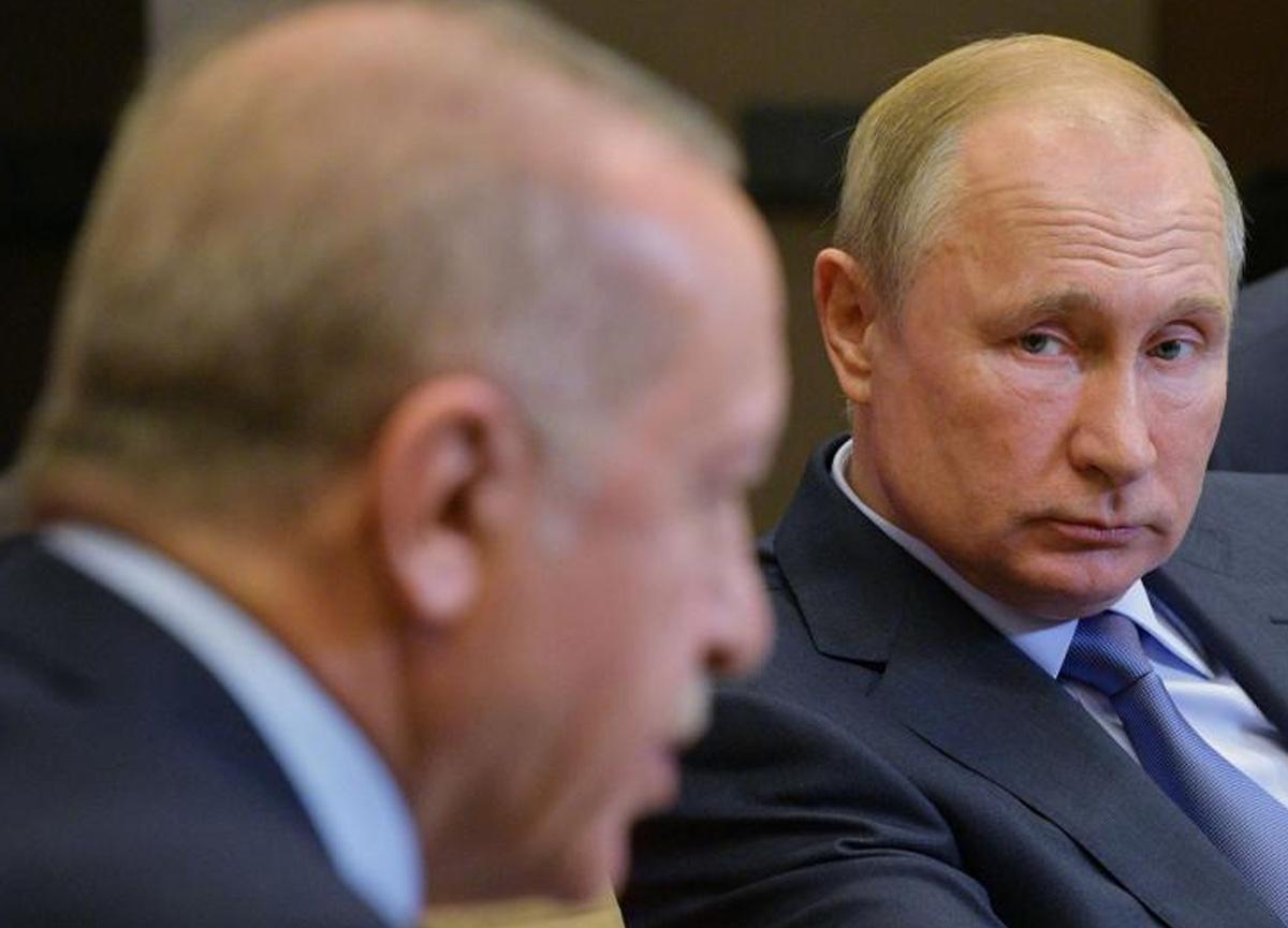 Rusya Devlet Başkanı Vladimir Putin'den Cumhurbaşkanı Erdoğan'a İzmir Depremi taziyesi