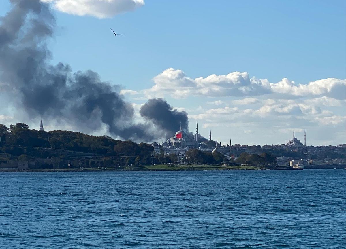 İstanbul Üniversitesi Çapa Tıp Fakültesi Hastanesi inşaatında yangın