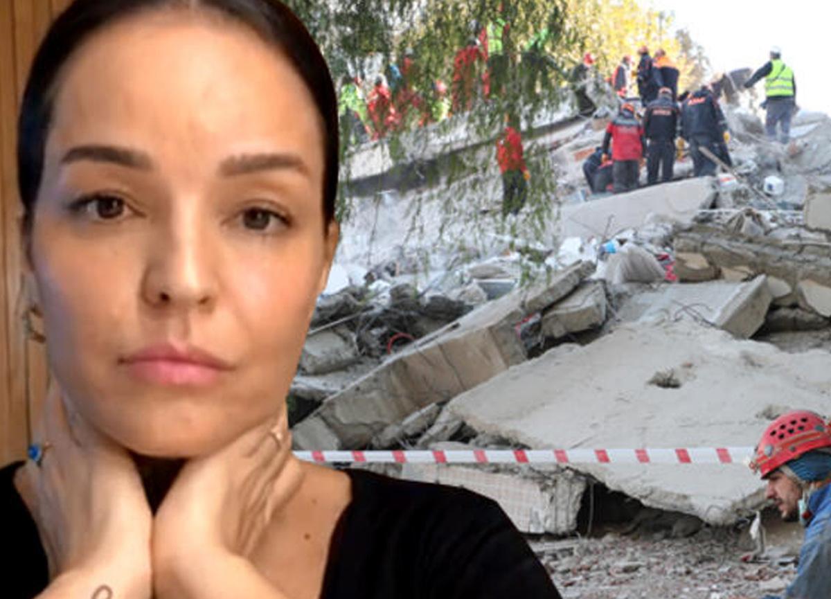 Bengü, İzmir'i vuran depremde yaşadığı korkuyu böyle anlattı: Elimiz kolumuz bağlı, buz gibi izliyoruz...