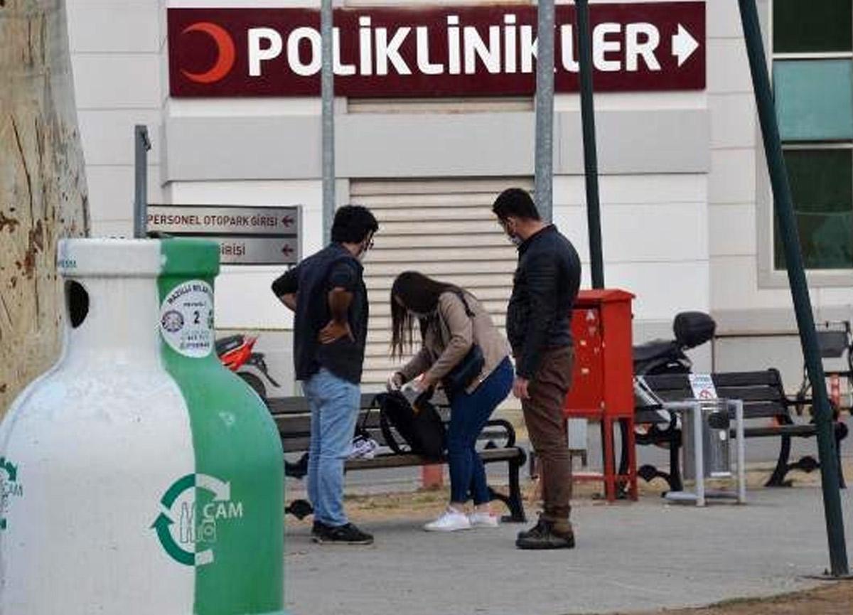 Aydın'da sahipsiz sırt çantası patlatılacakken sahibi geldi