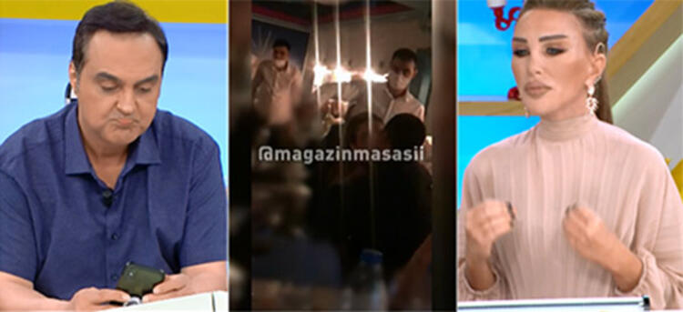 Pelin Öztekin'in gittiği mekanda ortalığı birbirine kattığı iddia edildi!