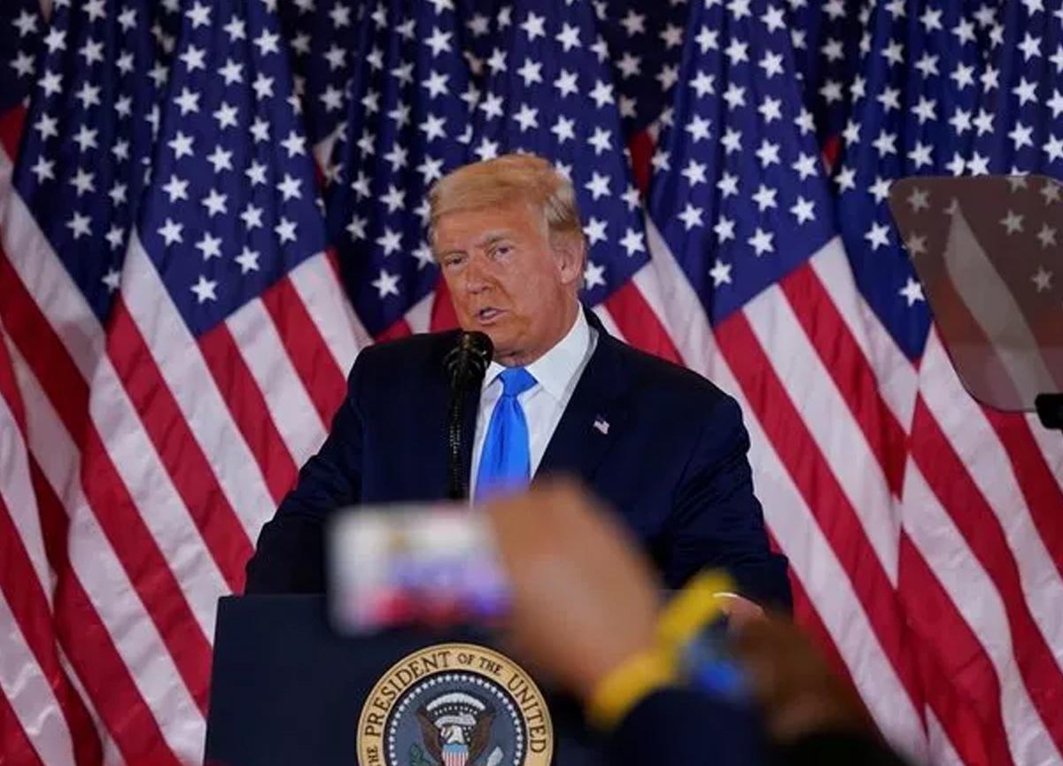 Dünya ABD'ye kilitlendi! Donald Trump'tan flaş sözler: Biz bu seçimi kazandık