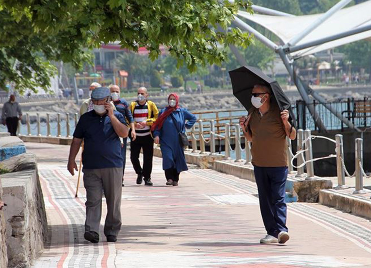 Zonguldak'ta 65 yaş ve üstü vatandaşlara sokağa çıkma kısıtlaması