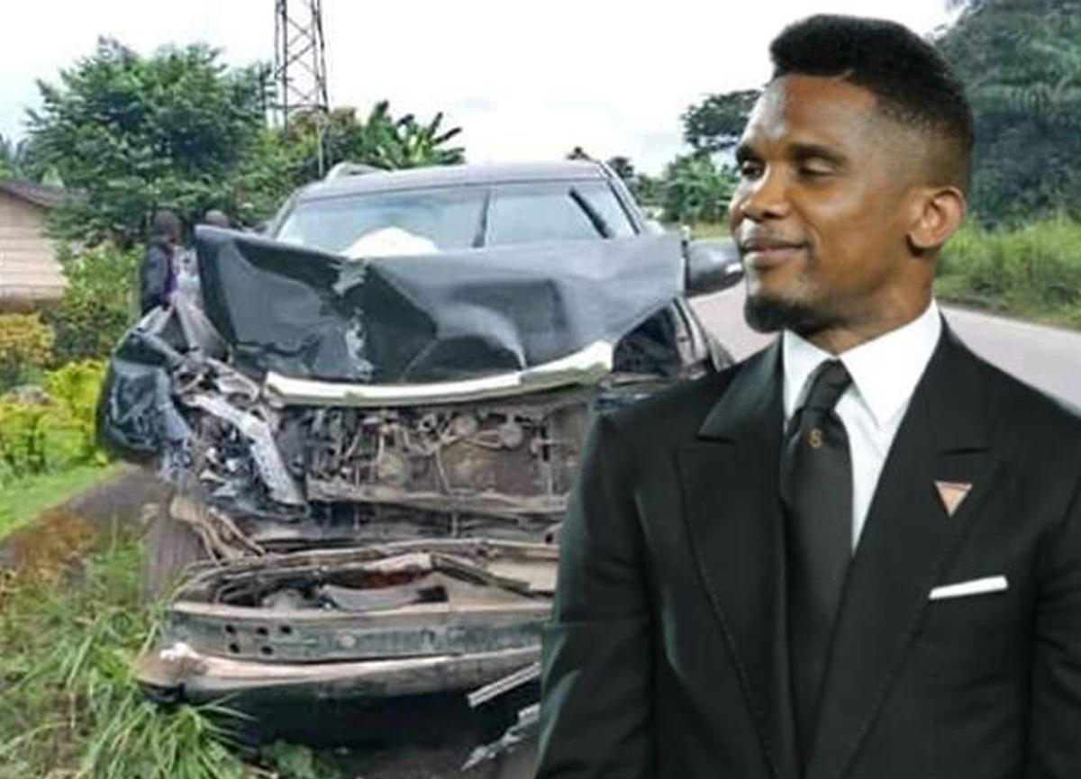 Son dakika: Samuel Eto'o trafik kazası geçirdi!
