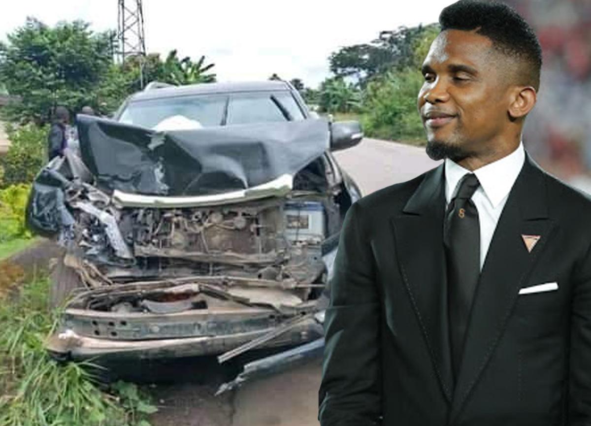 Samuel Eto'o trafik kazası geçirdi!