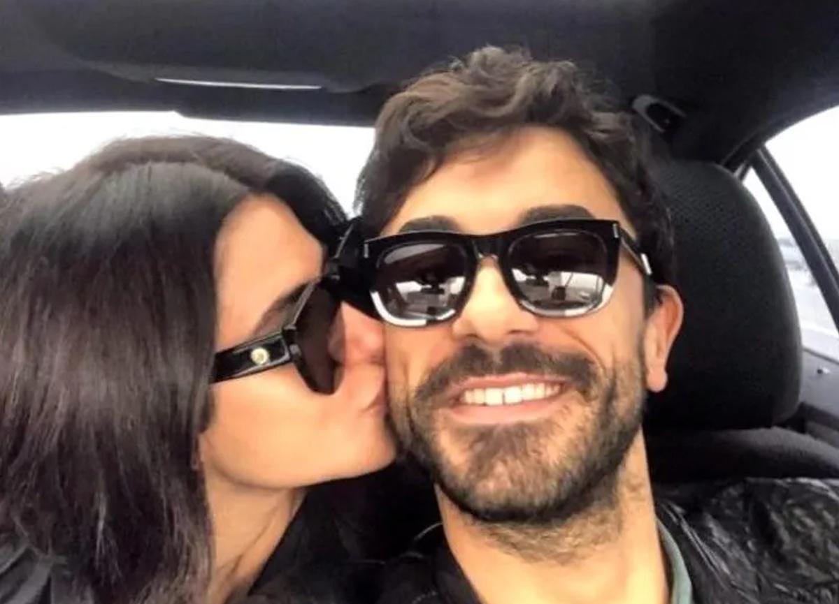 Aşklarını sosyal medyadan ilan etmişlerdi... Nesrin Cavadzade ve Gökhan Alkan fotoğrafında dikkat çeken detay