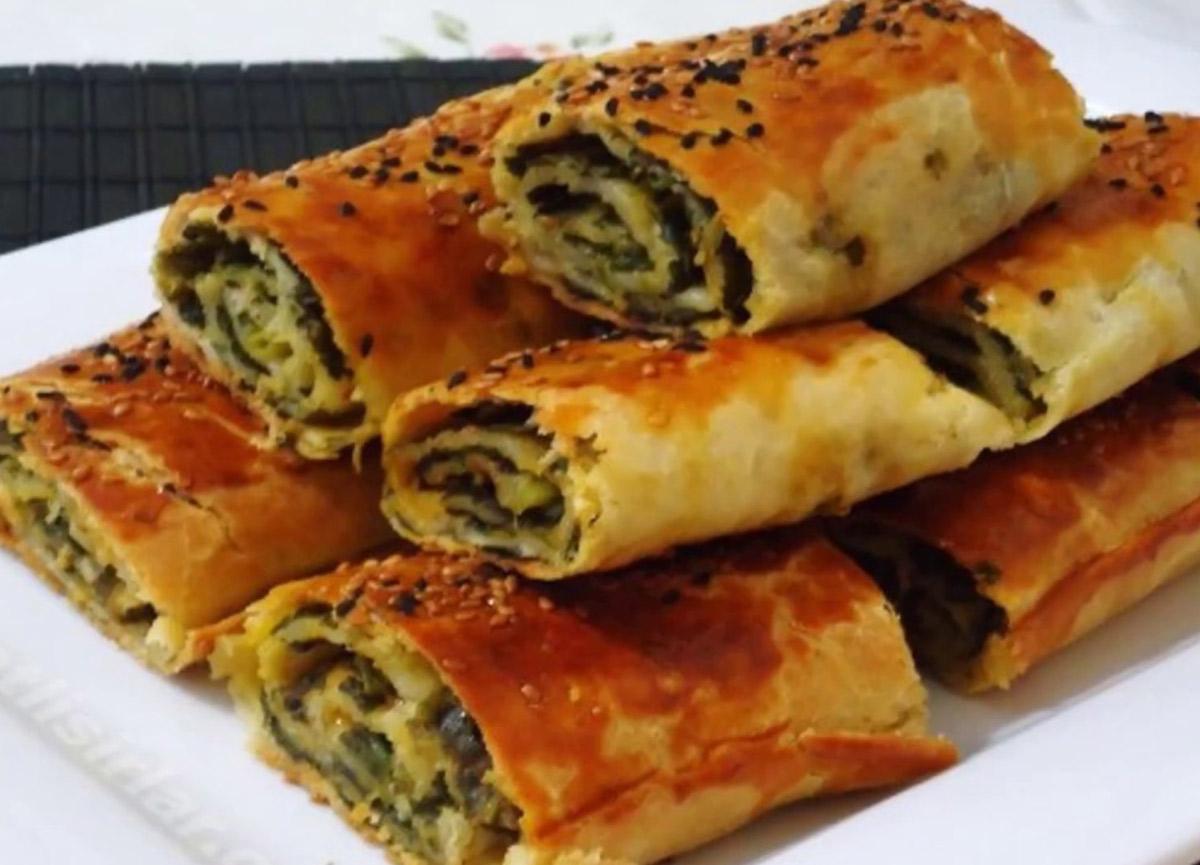 Ispanaklı el açması börek nasıl yapılır? 10 Kasım MasterChef 2020 Ispanaklı börek tarifi ve malzemeleri!