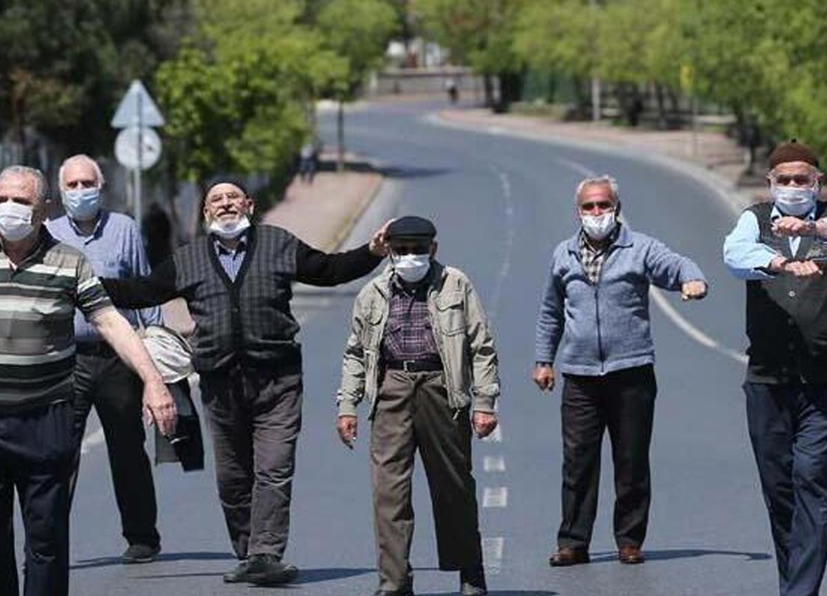 İstanbul'da koronavirüs önlemleri kapsamında 65 yaş ve üstüne sokağa çıkma kısıtlaması
