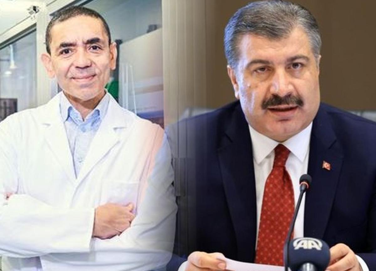 Sağlık Bakanı Fahrettin Koca, BioNTech firmasının sahibi Uğur Şahin ile görüştü