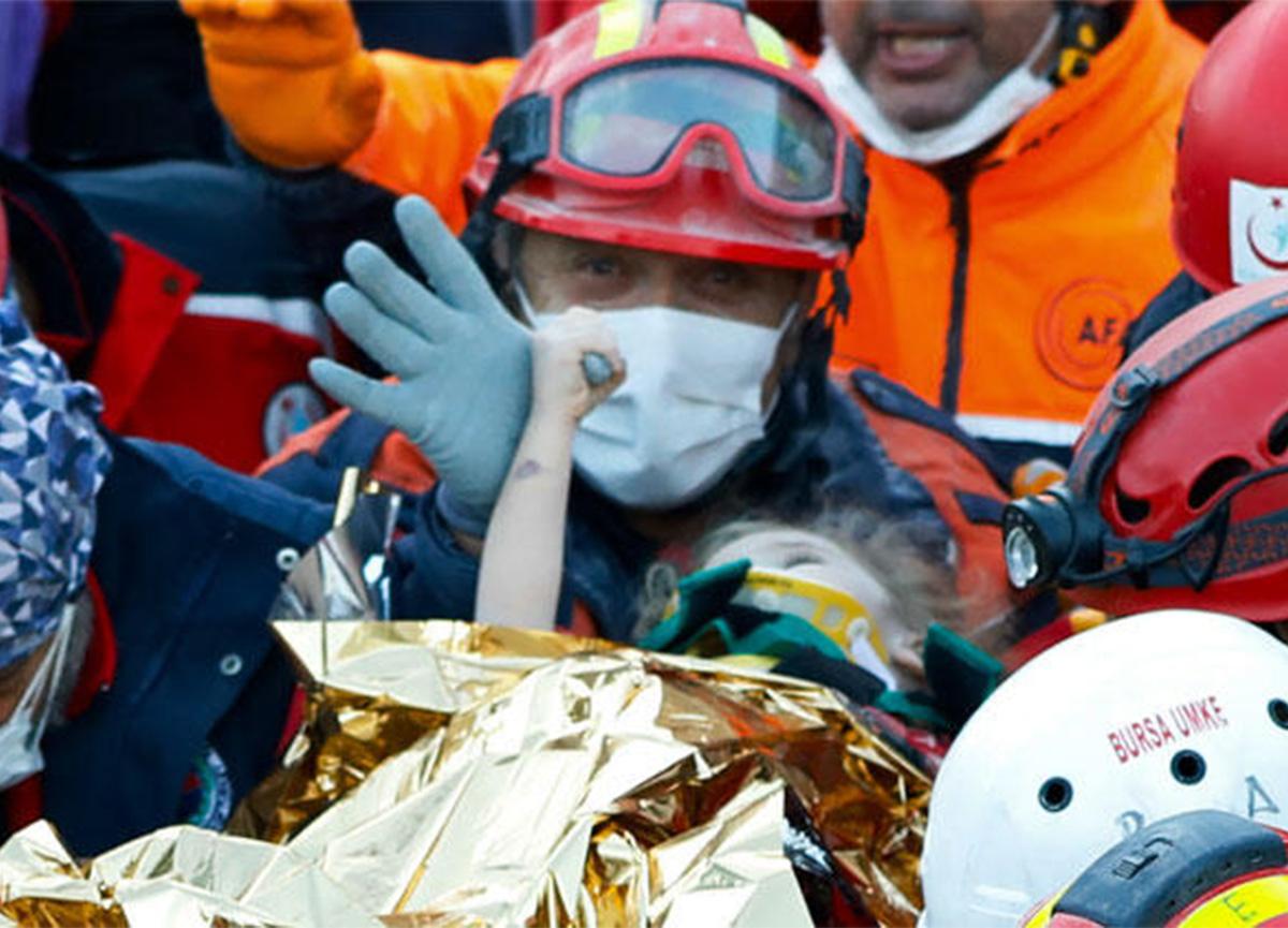 Son dakika: 65 saat sonra enkazdan çıkarılan Elif Perinçek taburcu edildi!
