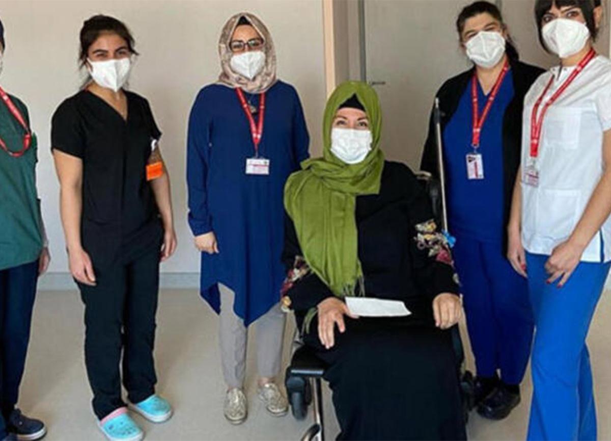 Koronavirüs tedavisi gören İkbal Gürpınar taburcu oldu